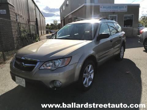 2009 Subaru Outback for sale at Ballard Street Auto in Saugus MA