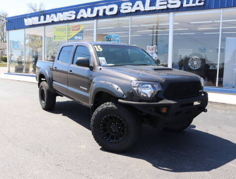 2015 Toyota Tacoma for sale at Williams Auto Sales, LLC in Cookeville TN