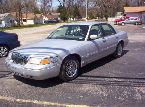 2002 Mercury Grand Marquis for sale at LAKESIDE MOTORS LLC in Houghton Lake MI