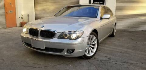 2007 BMW 7 Series for sale at Top Speed Auto Sales in Fremont CA