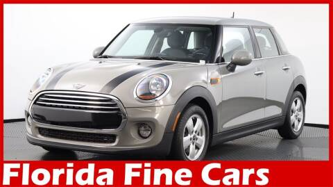 2019 MINI Hardtop 4 Door for sale at Florida Fine Cars - West Palm Beach in West Palm Beach FL