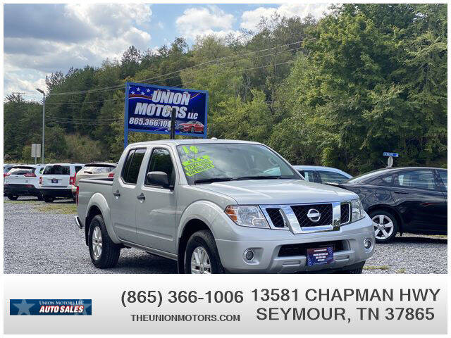 2014 Nissan Frontier for sale at Union Motors in Seymour TN