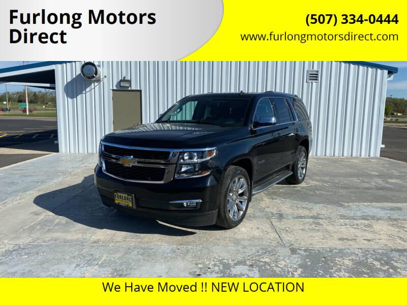 2015 Chevrolet Tahoe for sale at Furlong Motors Direct in Faribault MN