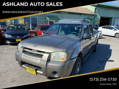 2004 Nissan Frontier for sale at ASHLAND AUTO SALES in Columbia MO