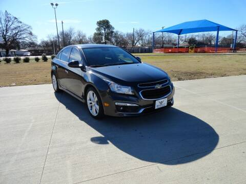 2015 Chevrolet Cruze for sale at Vamos-Motorplex in Lewisville TX