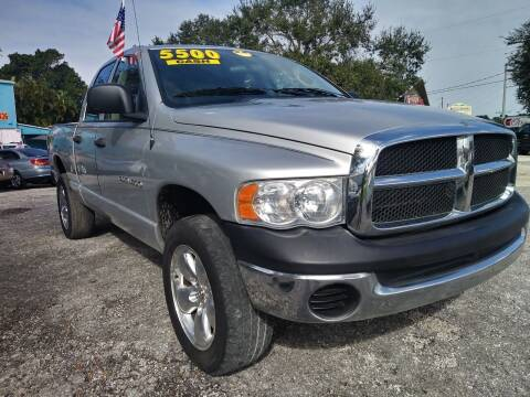 2005 Dodge Ram Pickup 1500 for sale at AFFORDABLE AUTO SALES OF STUART in Stuart FL