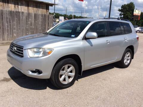 2010 Toyota Highlander for sale at OASIS PARK & SELL in Spring TX