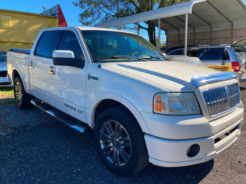 2007 Lincoln Mark LT for sale at The Peoples Car Company in Jacksonville FL