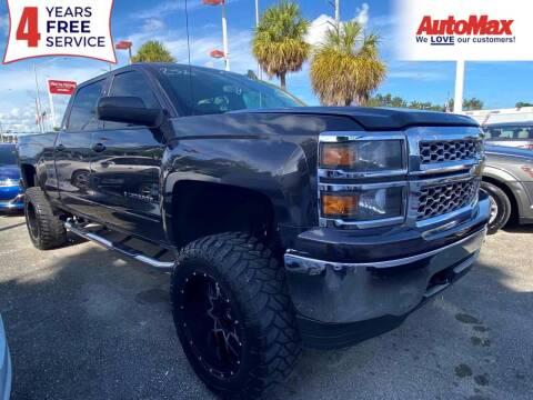 2015 Chevrolet Silverado 1500 for sale at Auto Max in Hollywood FL