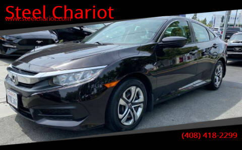 2016 Honda Civic for sale at Steel Chariot in San Jose CA