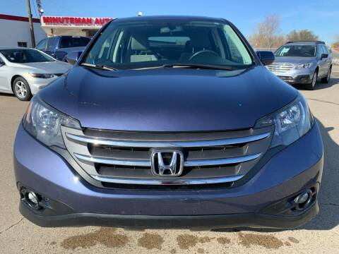 2014 Honda CR-V for sale at Minuteman Auto Sales in Saint Paul MN