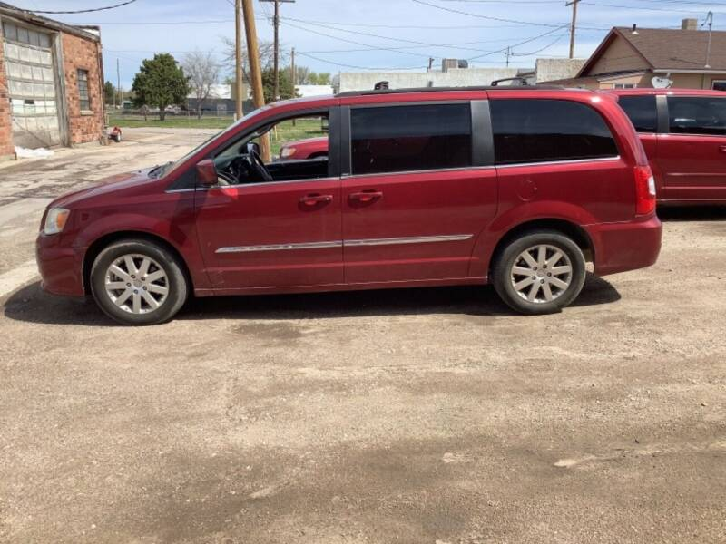 2013 Chrysler Town and Country for sale at Paris Fisher Auto Sales Inc. in Chadron NE