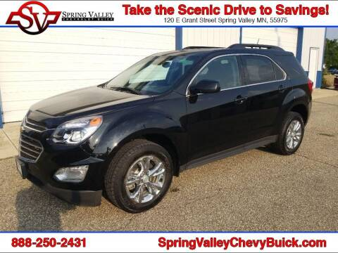 2017 Chevrolet Equinox for sale at Spring Valley Chevrolet Buick in Spring Valley MN