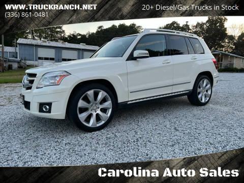 2011 Mercedes-Benz GLK for sale at Carolina Auto Sales in Trinity NC