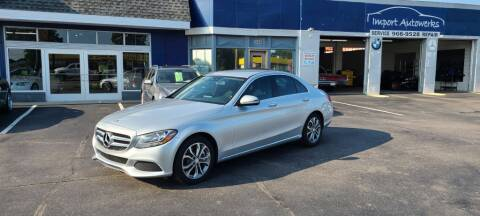 2016 Mercedes-Benz C-Class for sale at Import Autowerks in Portsmouth VA