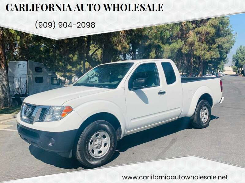 2018 Nissan Frontier for sale at CARLIFORNIA AUTO WHOLESALE in San Bernardino CA