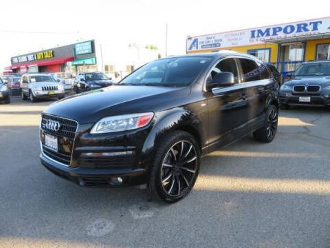 2008 Audi Q7 for sale at Import Auto World in Hayward CA