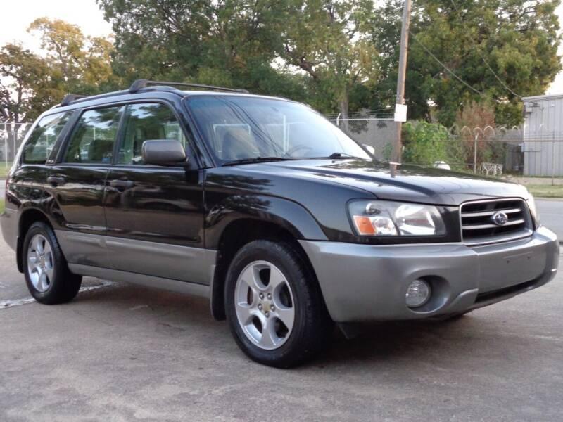 2004 Subaru Forester for sale at Auto Starlight in Dallas TX