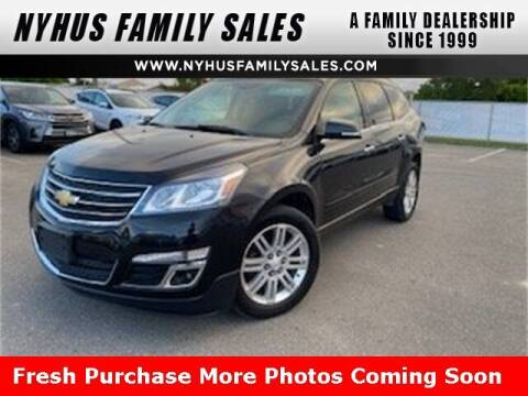 2014 Chevrolet Traverse for sale at Nyhus Family Sales in Perham MN