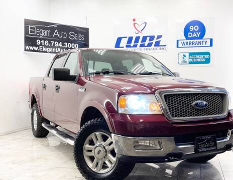 2004 Ford F-150 for sale at Elegant Auto Sales in Rancho Cordova CA