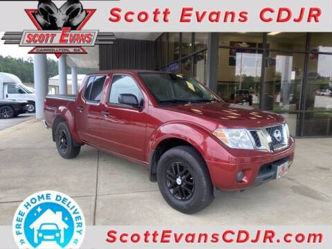 2019 Nissan Frontier for sale at SCOTT EVANS CHRYSLER DODGE in Carrollton GA