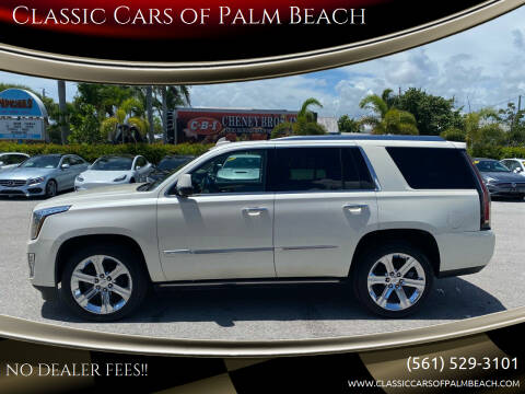 2015 Cadillac Escalade for sale at Classic Cars of Palm Beach in Jupiter FL