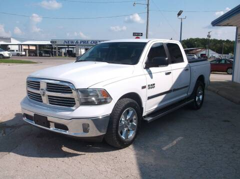 2013 RAM Ram Pickup 1500 for sale at AUTO TOPIC in Gainesville TX
