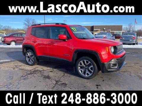 2017 Jeep Renegade for sale at Lasco of Waterford in Waterford MI