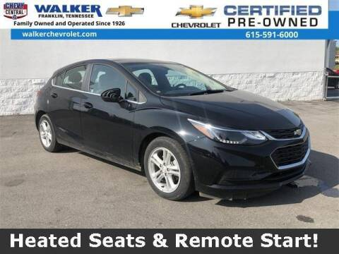 2017 Chevrolet Cruze for sale at WALKER CHEVROLET in Franklin TN