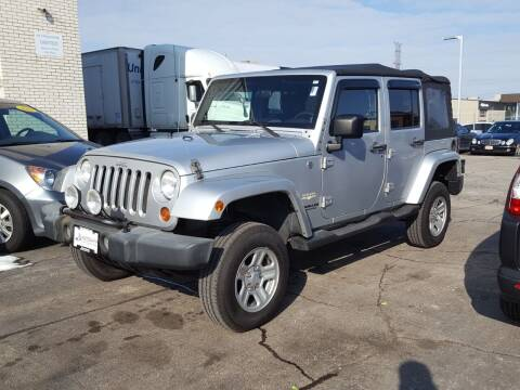 2007 Jeep Wrangler Unlimited for sale at AUTOSAVIN in Elmhurst IL