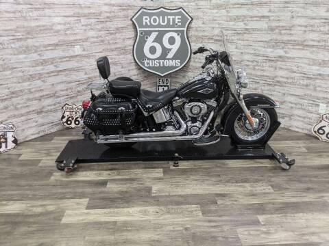 2014 HarleyDavidson FLSTC for sale at AmericAuto in Des Moines IA