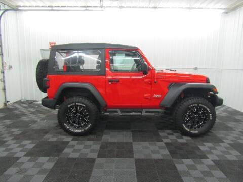 2018 Jeep Wrangler for sale at Michigan Credit Kings in South Haven MI