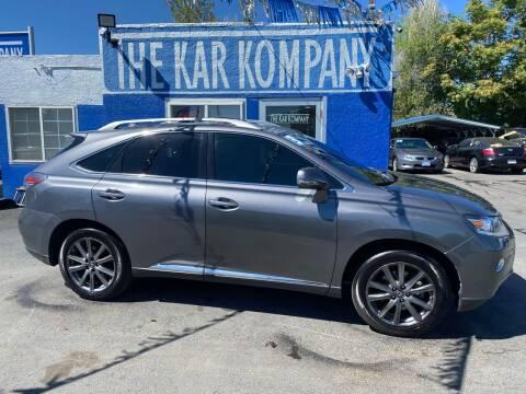 2013 Lexus RX 350 for sale at The Kar Kompany Inc. in Denver CO