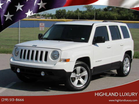 2014 Jeep Patriot for sale at Highland Luxury in Highland IN