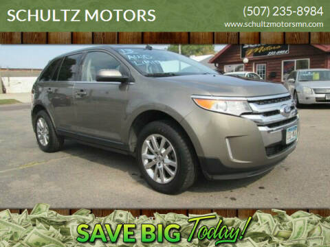 2013 Ford Edge for sale at SCHULTZ MOTORS in Fairmont MN