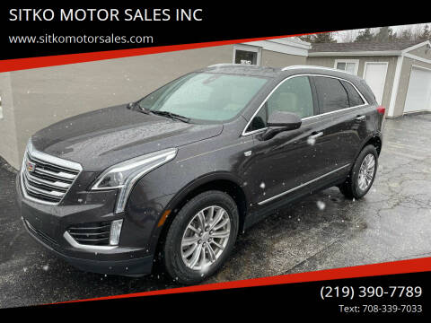2017 Cadillac XT5 for sale at SITKO MOTOR SALES INC in Cedar Lake IN
