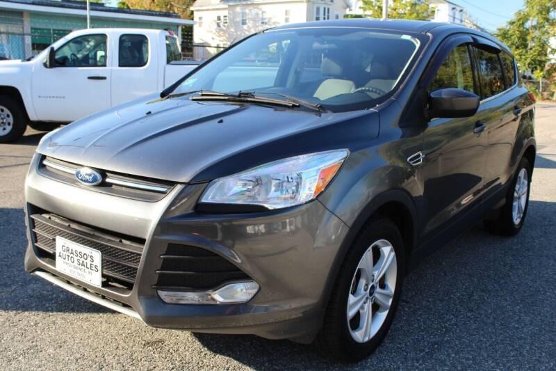2016 Ford Escape for sale at Grasso's Auto Sales in Providence RI