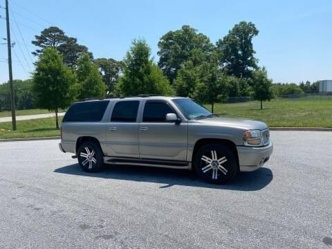 2003 GMC Yukon XL for sale at GTO United Auto Sales LLC in Lawrenceville GA