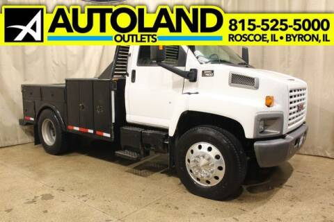 2003 GMC W7500 for sale at AutoLand Outlets Inc in Roscoe IL