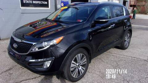 2015 Kia Sportage for sale at Allen's Pre-Owned Autos in Pennsboro WV