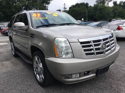 2007 Cadillac Escalade for sale at Import Plus Auto Sales in Norcross GA