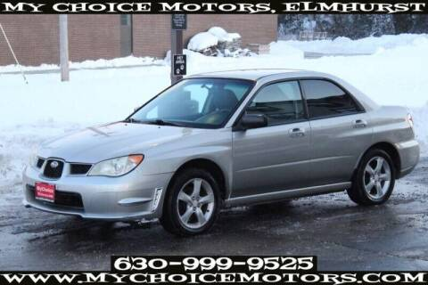 2007 Subaru Impreza for sale at My Choice Motors Elmhurst in Elmhurst IL