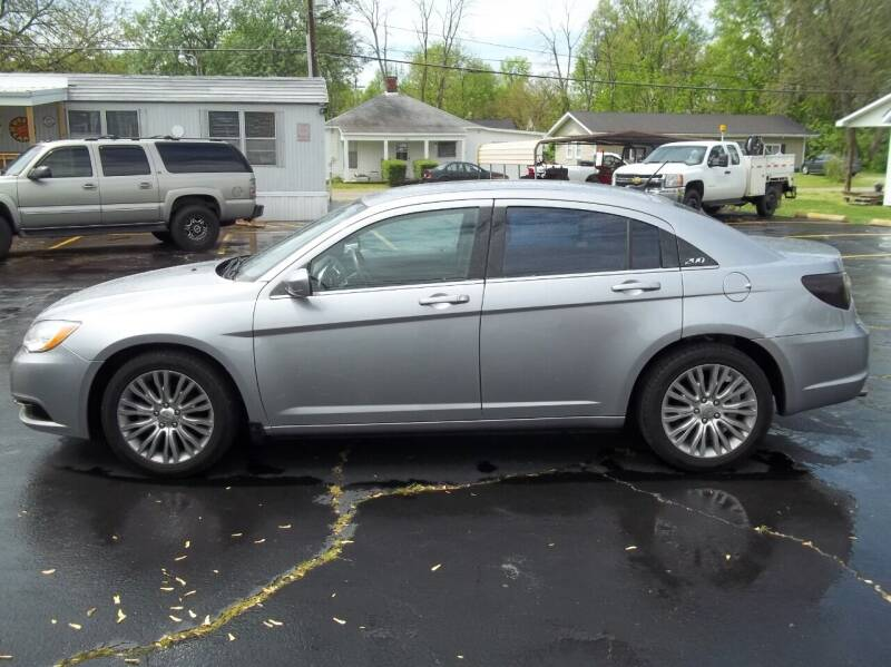 2013 Chrysler 200 for sale at R V Used Cars LLC in Georgetown OH