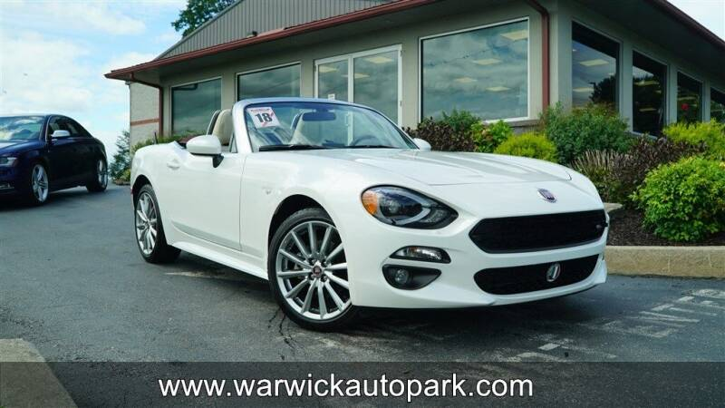 2018 FIAT 124 Spider for sale at WARWICK AUTOPARK LLC in Lititz PA