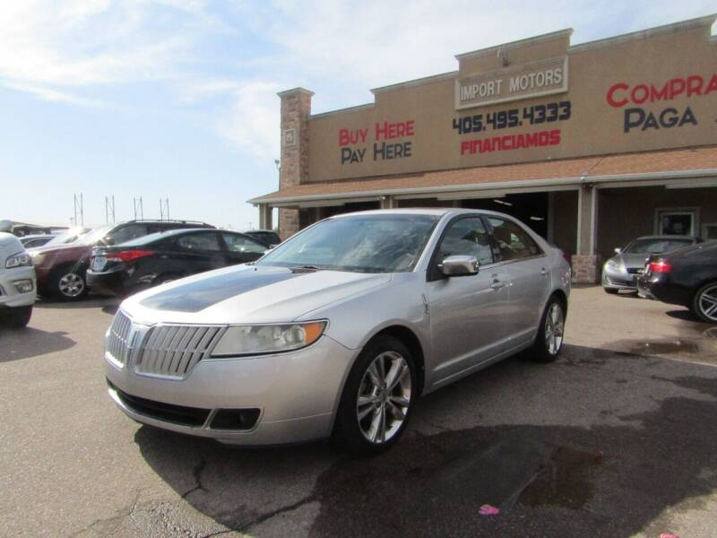 2011 Lincoln MKZ for sale at Import Motors in Bethany OK