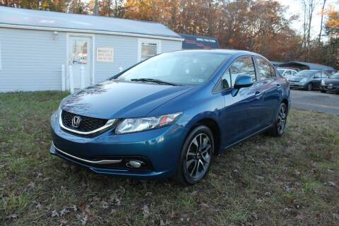 2013 Honda Civic for sale at Manny's Auto Sales in Winslow NJ