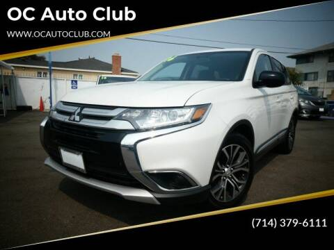 2016 Mitsubishi Outlander for sale at OC Auto Club in Midway City CA