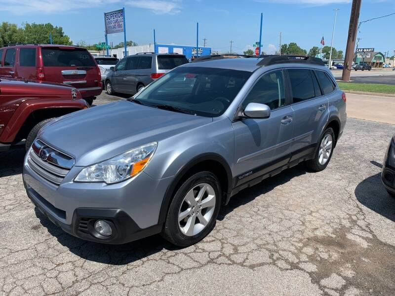 2014 Subaru Outback for sale at Superior Used Cars LLC in Claremore OK