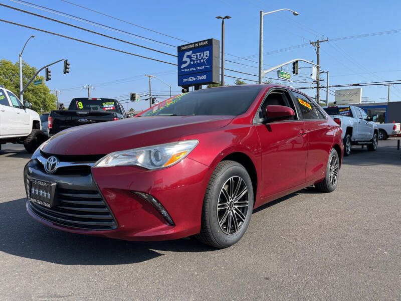 2017 Toyota Camry for sale at 5 Star Auto Sales in Modesto CA