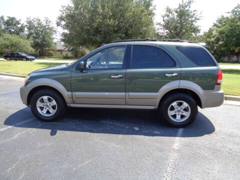 2005 Kia Sorento for sale at BALKCUM AUTO INC in Wilmington NC